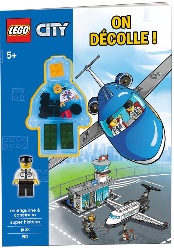 LEGO CITY ON DECOLLE !