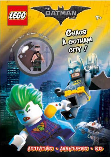 LEGO BATMAN MOVIE CHAOS A GOTHAM CITY