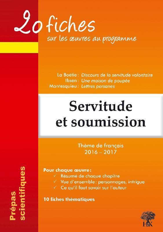 20 FICHES SUR LES OEUVRES THEME DE FRANCAIS 2016 2017 PREPA SCIENTIFIQUE