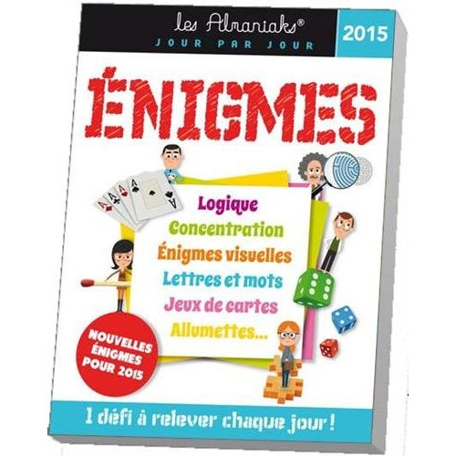 ALMANIAK ENIGMES 2015
