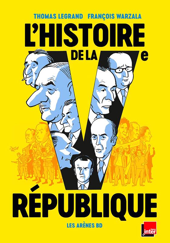 L'HISTOIRE DE LA VE REPUBLIQUE EN BD