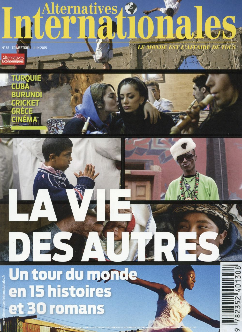 ALTERNATIVES INTERNATIONALES - NUMERO 67 - JUIN 2015