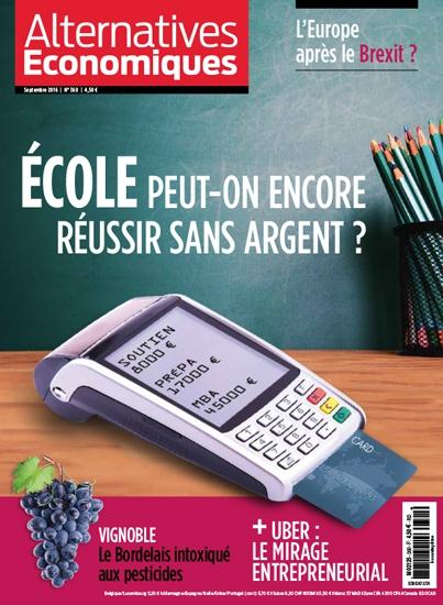 ALTERNATIVES ECONOMIQUES N 360 - SEPTEMBRE 2016