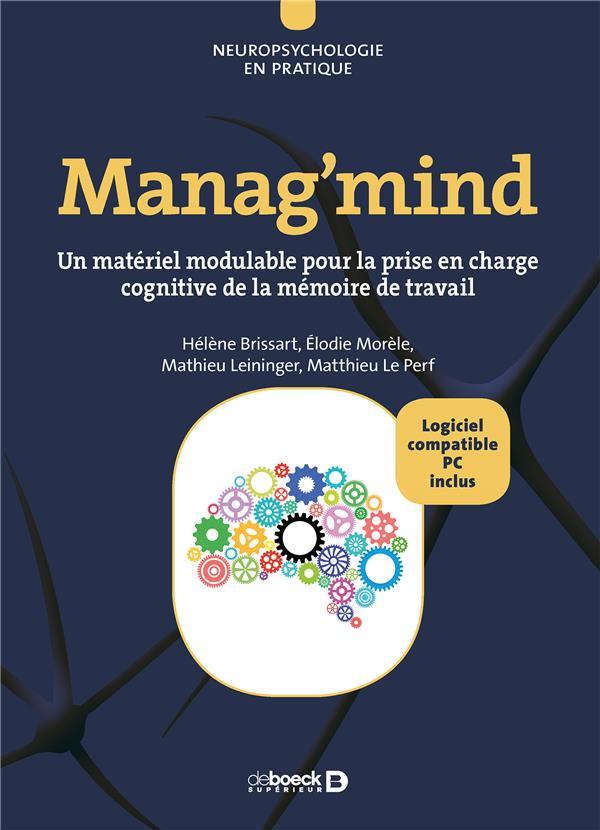 MANAG'MIND PRIX DE LANCEMENT 129N JUSQU'AU 15/10/18