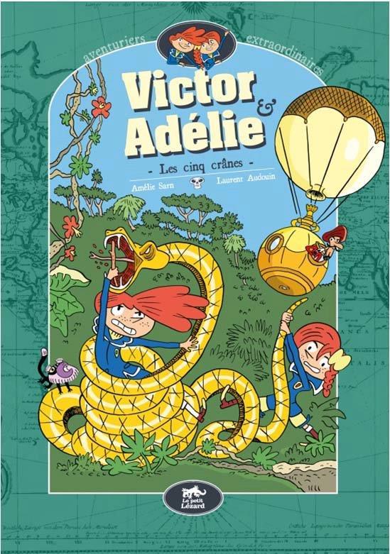 VICTOR & ADELIE 2 - LES CINQ CRANES