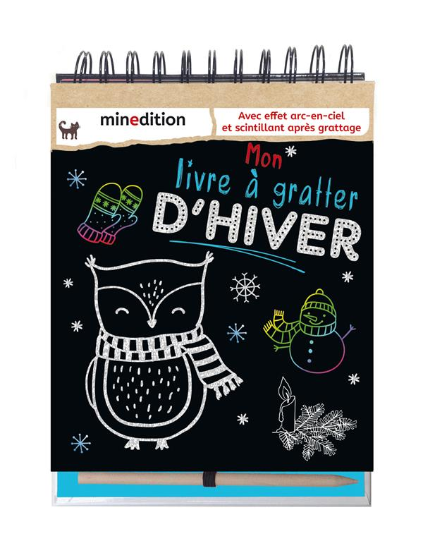 MON LIVRE A GRATTER D'HIVER