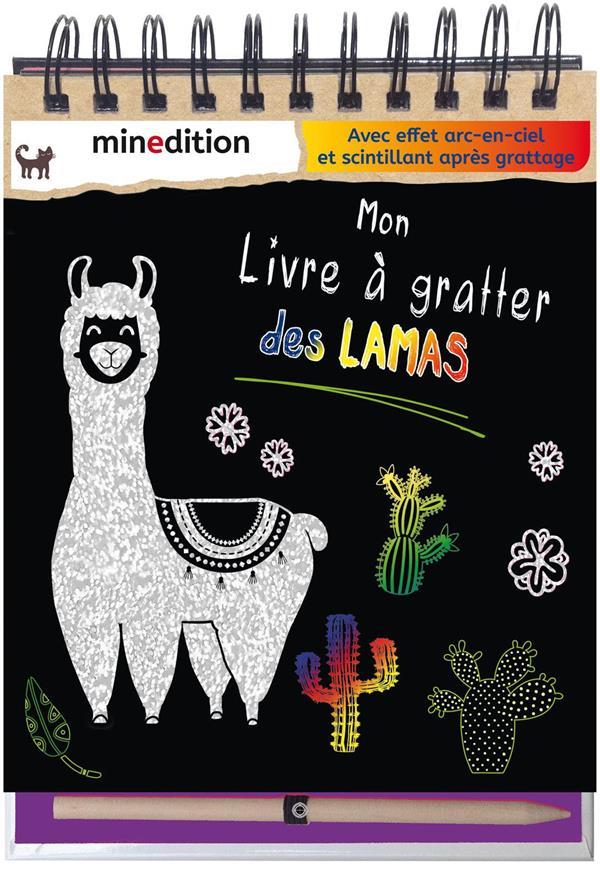 MON LIVRE A GRATTER DES LAMAS