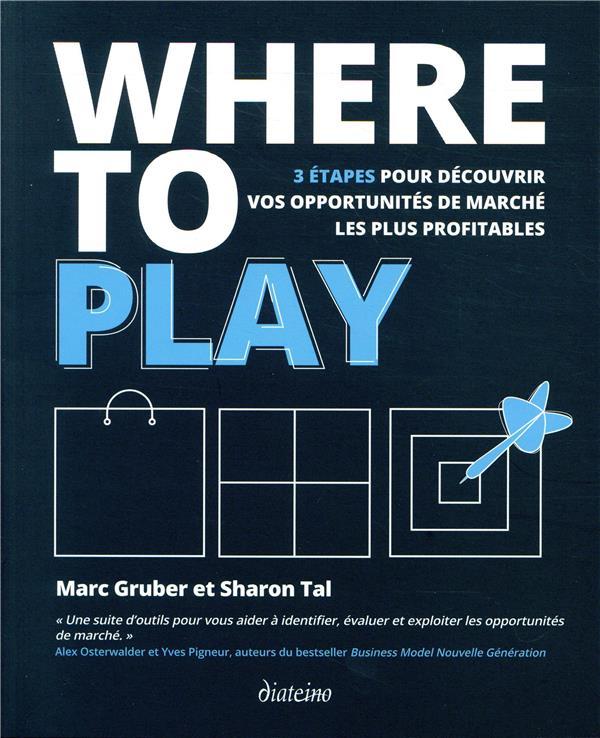 WHERE TO PLAY - 3 ETAPES POUR DECOUVRIR VOS OPPORTUNITES DE MARCHE LES PLUS PROFITABLES