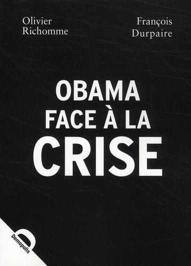 OBAMA FACE A LA CRISE