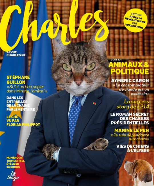 REVUE CHARLES N 26 - ANIMAUX & POLITIQUE