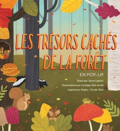 LES TRESORS CACHES DE LA FORET EN POP-UP  DS BAC LIVRES ANIMES
