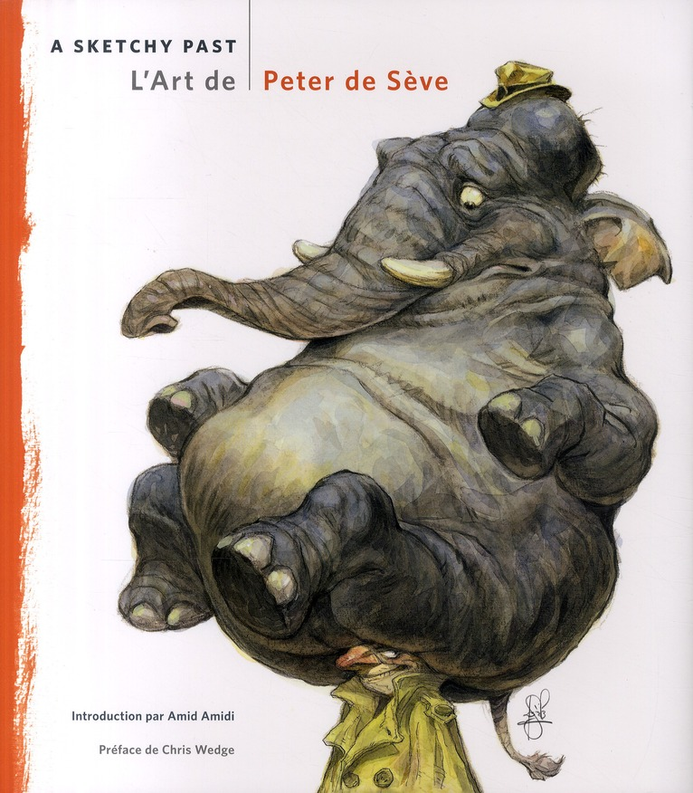 L'ART DE PETER DE SEVE - A SKETCHY PAST
