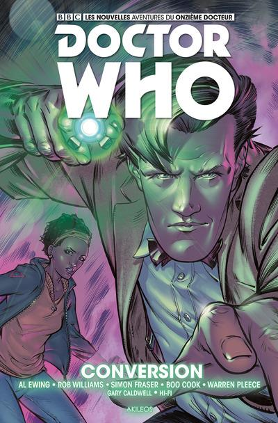 DOCTOR WHO - LE ONZIEME DOCTEUR - TOME 3 CONVERSIO