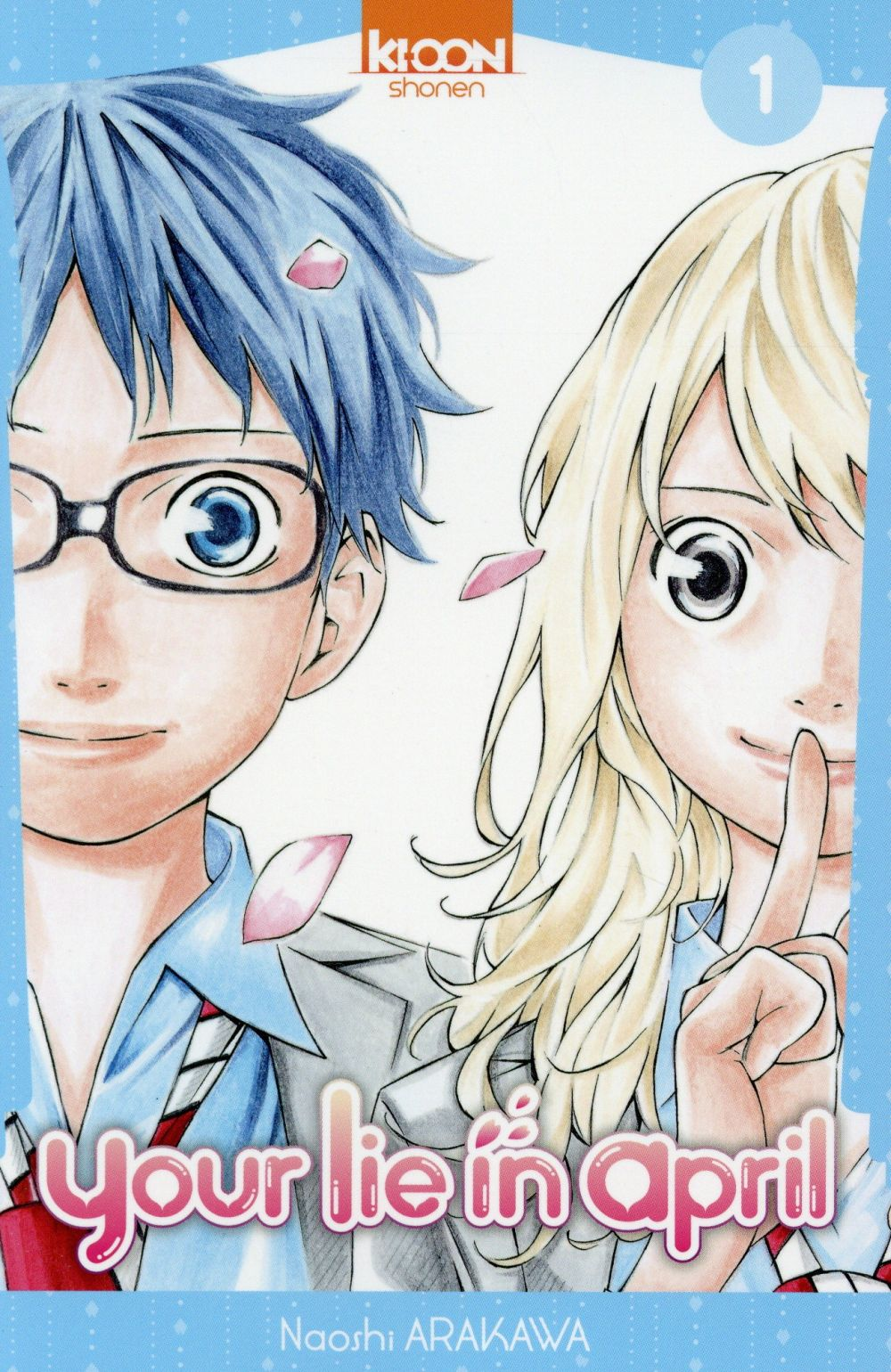 YOUR LIE IN APRIL T01