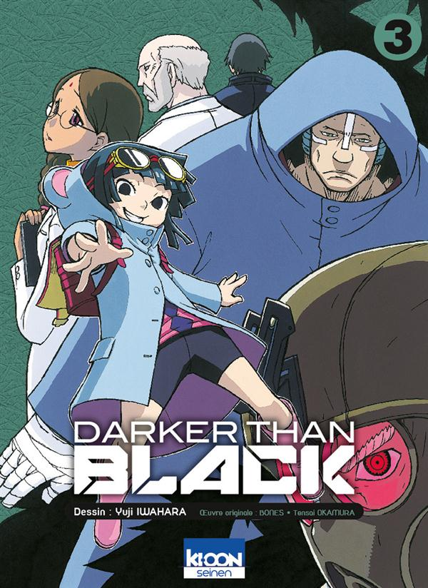 DARKER THAN BLACK T03 - VOL03