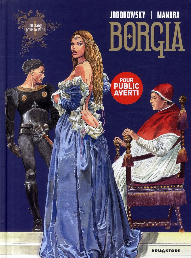 BORGIA - TOME 01 - DU SANG POUR LE PAPE
