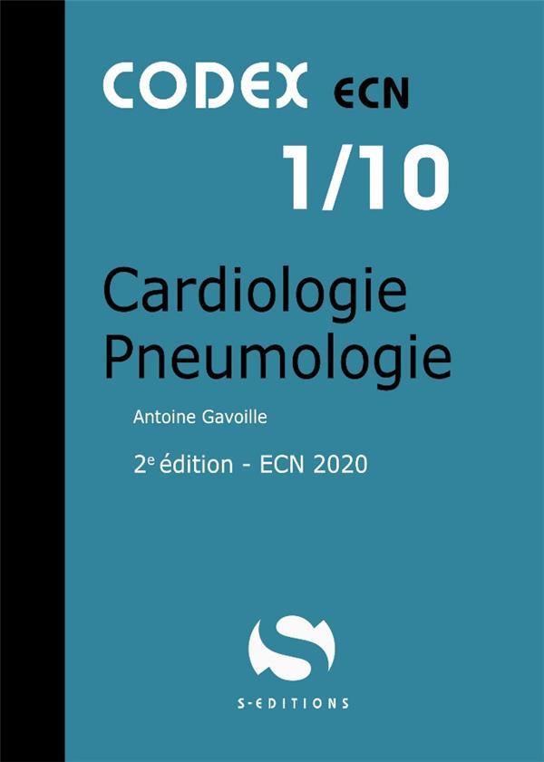 CODEX ECN 1/10 CARDIOLOGIE PNEUMOLOGIE