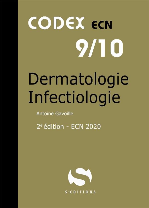 CODEX ECN 9/10 DERMATOLOGIE INFECTIOLOGIE