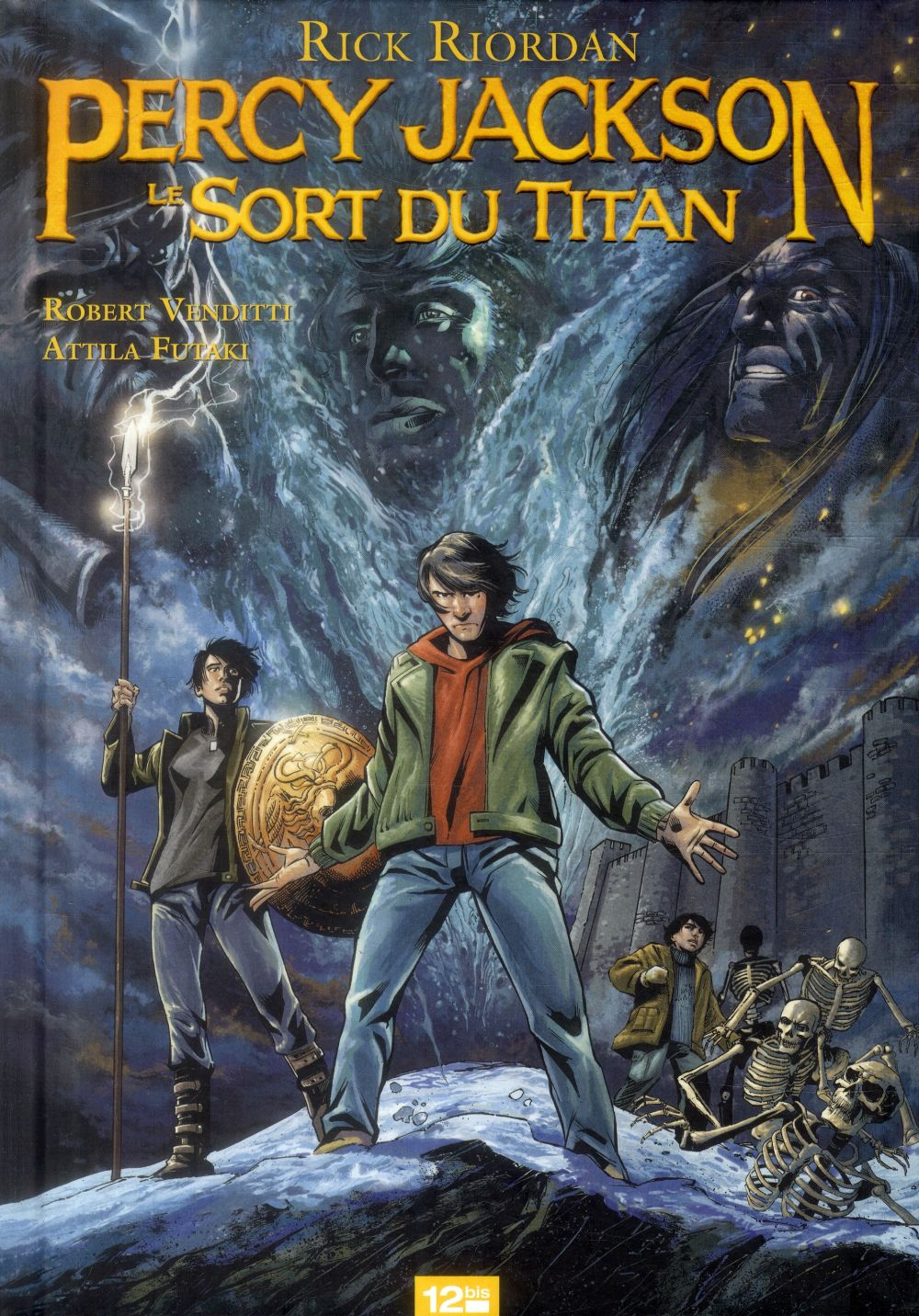 PERCY JACKSON - TOME 03