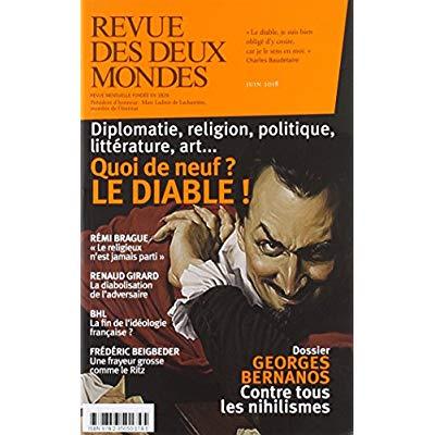 REVUE DES DEUX MONDES JUIN 2018