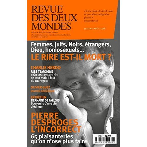 REVUE DES DEUX MONDES JUILLET 2018