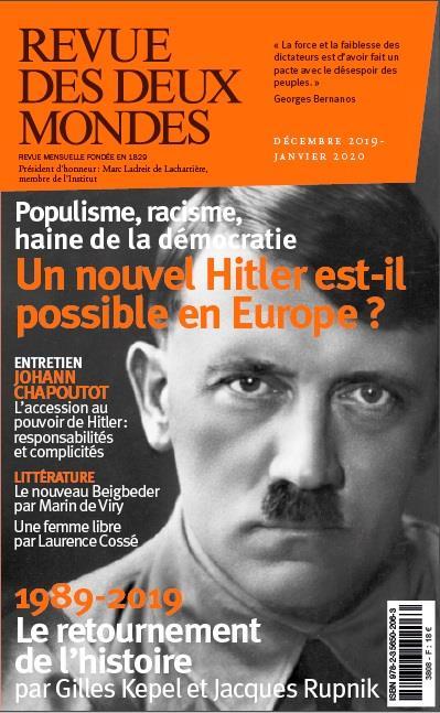 REVUE DES DEUX MONDES DECEMBRE 2019 - HITLER