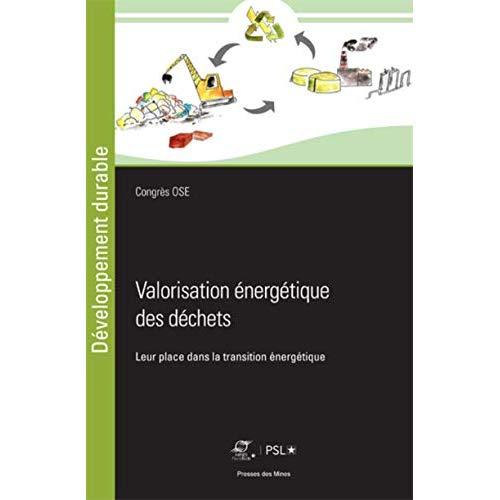 VALORISATION ENERGETIQUE DES DECHETS - LEUR PLACE DANS LA TRANSITION ENERGETIQUE