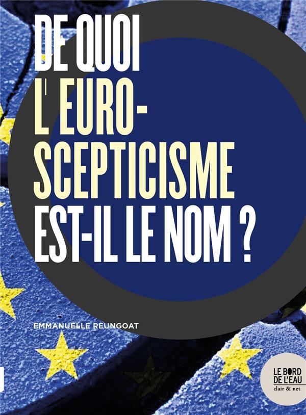 ENQUETE SUR LES OPPOSANTS A L EUROPE. - A DROITE ET A GAUCHE, LEUR IMPACT D HIER A AUJOURD HUI
