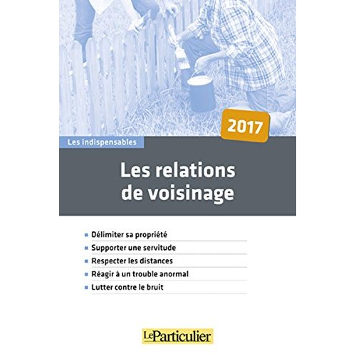 LES RELATIONS DE VOISINAGE