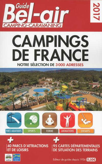 GUIDE BEL-AIR CAMPINGS DE FRANCE 2017