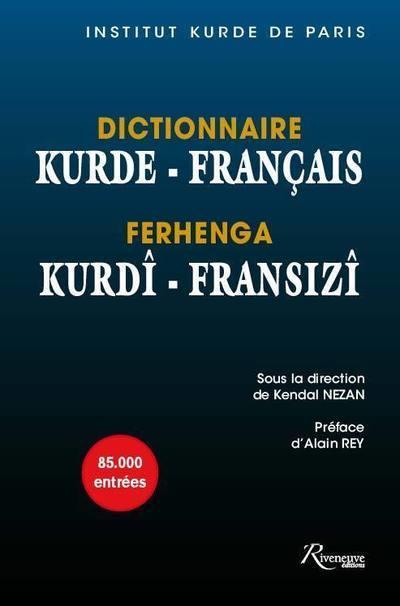 DICTIONNAIRE KURDE - FRANCAIS