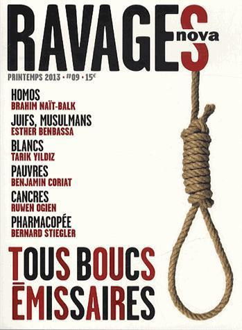 RAVAGES  - VOLUME 9 - TOUS BOUCS EMISSAIRES