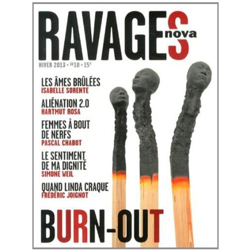 RAVAGES - VOL 10 - BURN-OUT