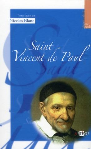 SAINT VINCENT DE PAUL - SPIRITUALITE EN POCHE