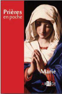 PRIERES EN POCHE - MARIE