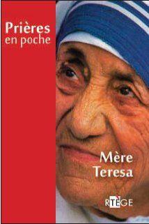 PRIERES EN POCHE - MERE TERESA