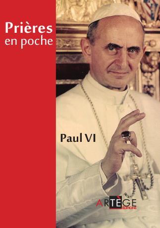 PRIERES EN POCHE PAUL VI