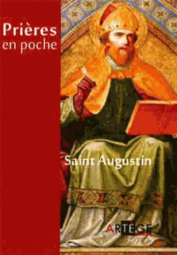 PRIERES EN POCHE - SAINT AUGUSTIN