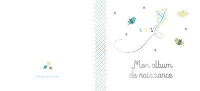 MON ALBUM DE NAISSANCE GARCON