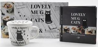 LOVELY MUG CATS COULEUR