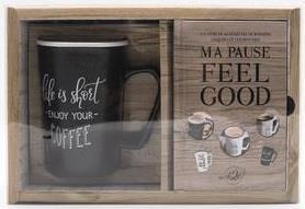 COFFRET NOIR MA PAUSE FEEL GOOD