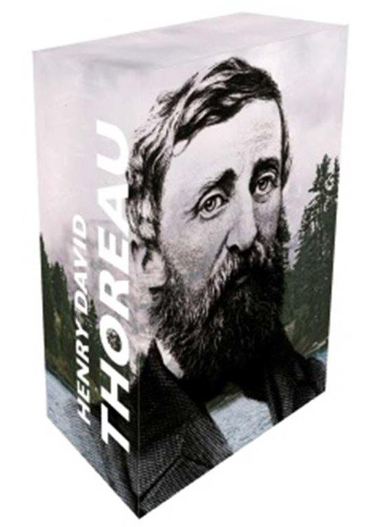COFFRET COLLECTOR  13 ECRITS DE THOREAU