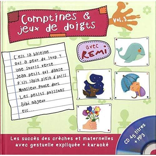COMPTINES ET JEUX DE DOIGTS T3
