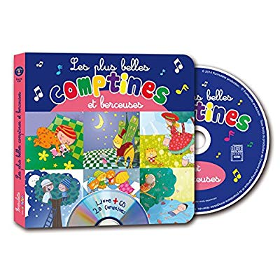 PLUS BELLES COMPTINES ET BERCEUSES (PROMO SPECIALE ETE) + CD