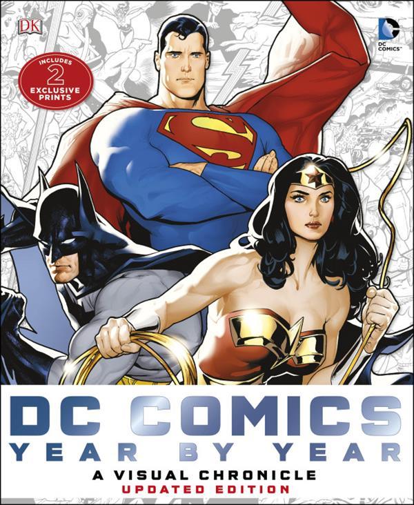 ARTS GRAPHIQUES LES CHRONIQUES DE DC COMICS