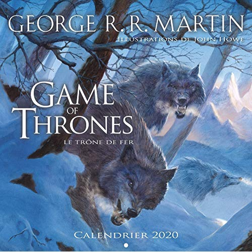 CALENDRIER GAME OF THRONES 2020