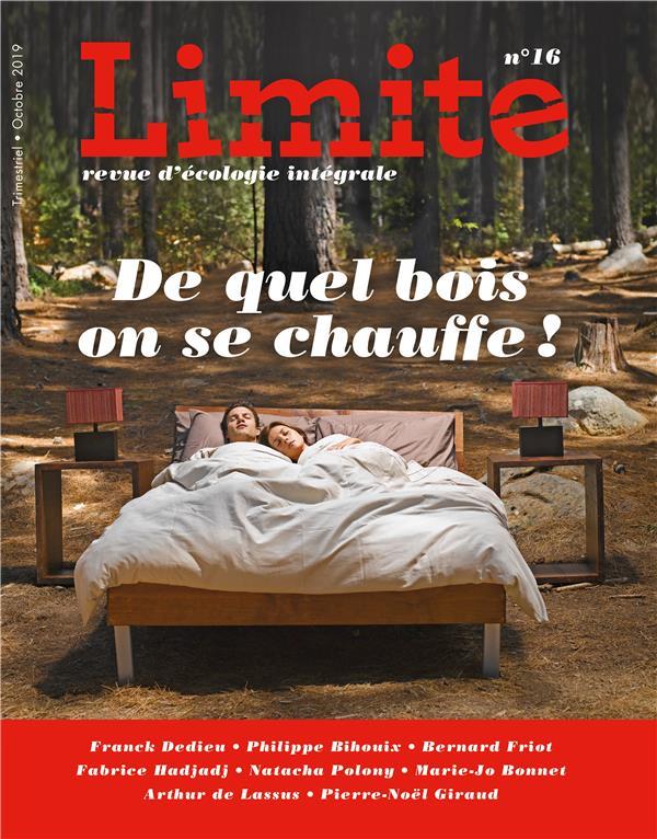 DE QUEL BOIS ON SE CHAUFFE ! LIMITE NO 16