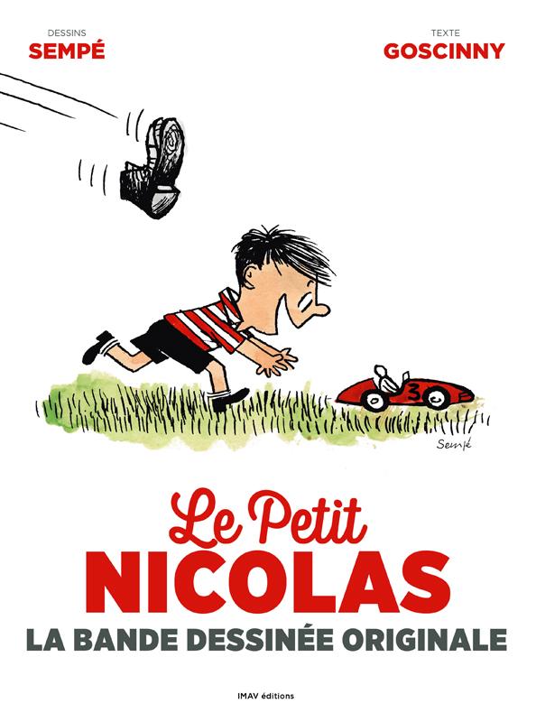 LE PETIT NICOLAS LA BANDE DESSINEE ORIGINALE
