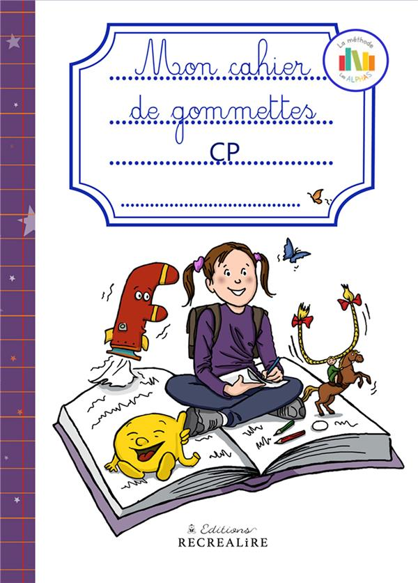 CAHIER DE GOMMETTES CP NOUVELLE EDITION
