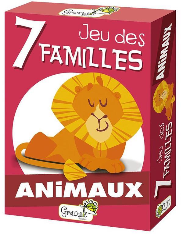 7 FAMILLES ANIMAUX EN ILLUSTRATIONS